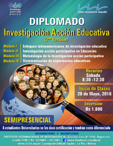 Diplomado en Investigación Acción Educativa