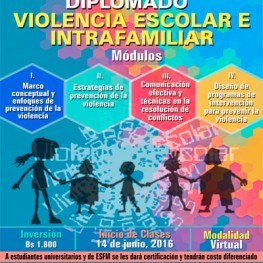 Diplomado en violencia escolarVIRTUAL