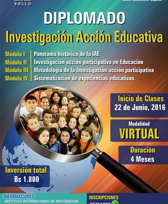 Diplomado Investigación Acción Educativa (VIRTUAL)