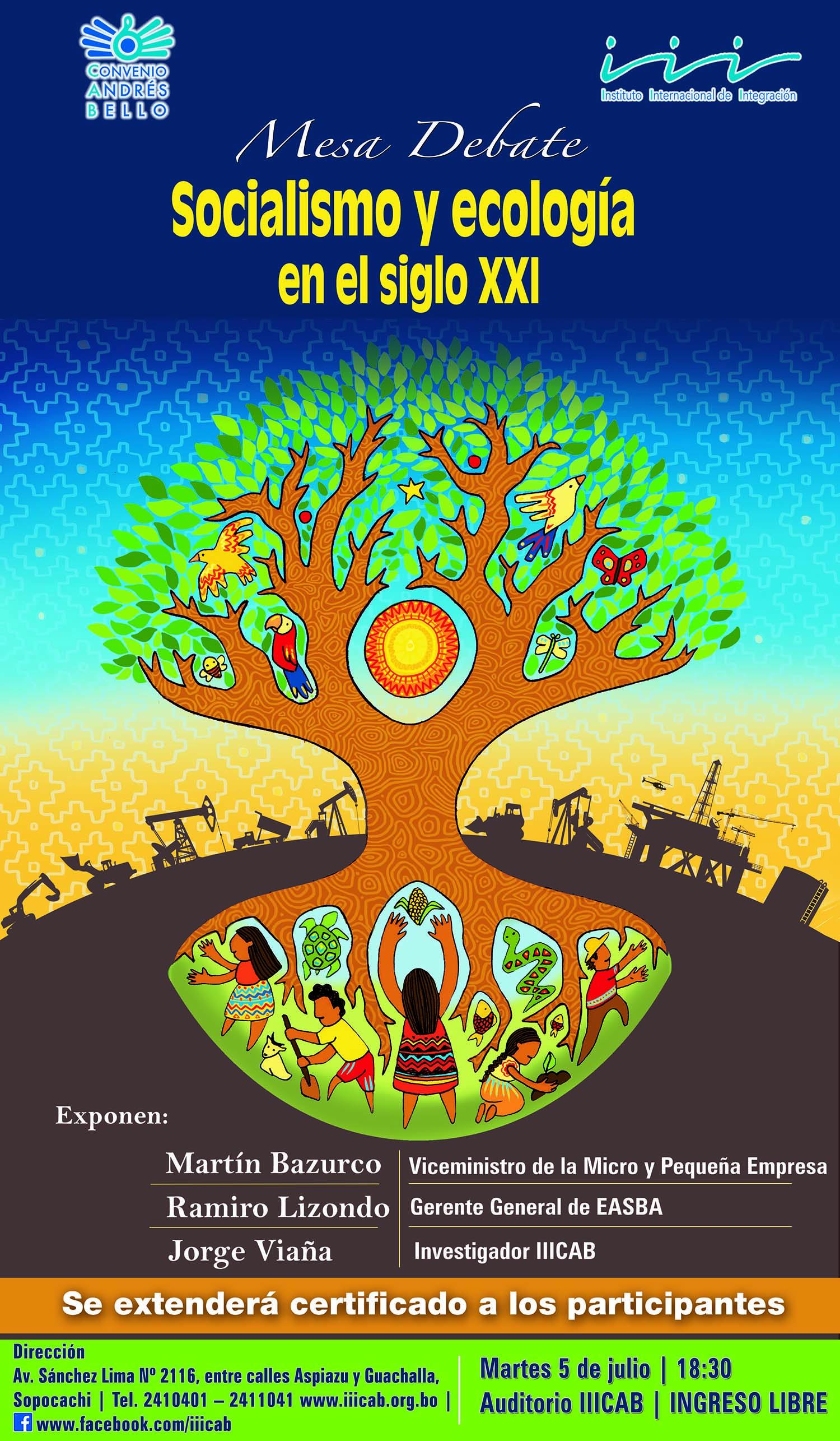 MESA DEBATE: Socialismo y ecología en el siglo XXI