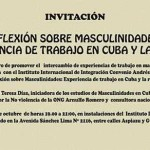 REFLEXIÓN SOBRE MASCULINIDADES: EXPERIENCIA DE TRABAJO EN CUBA Y LA REGIÓN