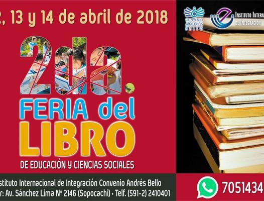 2da. Feria del Libro de Educación y Ciencias Sociales